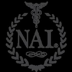 nai black logo