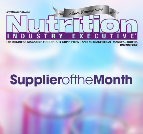 NIE Supplier Of The Month