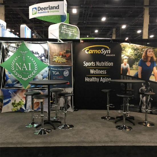 booths at SupplySide West